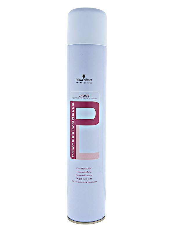 Schwarzkopf Laque 500ml Super Strong Hold Haarspray - blue -